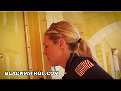 BLACK PATROL - White Cops With Big Tits Riding ...