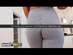 BANGBROS - Step Sister Showers After Yoga, Ends Up Fucking Her Step Brother