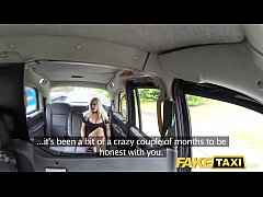Fake Taxi Big tits blonde in sexy high heels