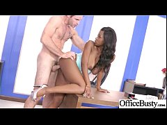 Hardcore Sex Tape In Office With Big Round Boobs Horny Girl (Jezabel Vessir) vid-29