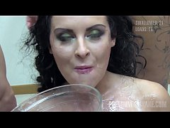 Premium Bukkake - 100 mouthful cumshots compila...