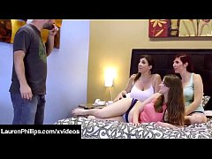 Lauren Phillips Jay Taylor & Sara Jay Suck & Fuck In 4 Way!