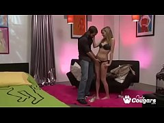 Nicole Ray Pulls Down Her Little Thong And Bangs Her Man