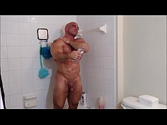 Soap and oil in the shower