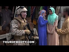 Clip sex TOUR OF BOOTY - Operation Pussy Run with Soldiers In The Middle East!
