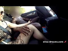 Sexy Cheating Wife gets Huge black Dick outdoors