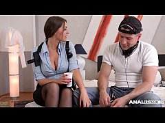 thumb anal inspect ion of hot detective kendra star ends in hardcore dp threesome
