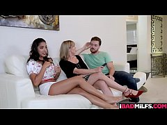 Claire must be approved to date her stepson and that requires some hot lesbian pussy licking to go down!