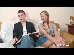 Anal for Blonde young teen lolita pussy with pi...