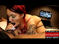 SANTANA RED fucked and nutted in deeply by Scor...