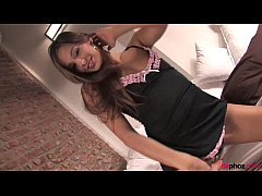 Beautiful Czech girl Dominika C. shows her big ...