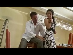 Step-dad Seduce Hot...