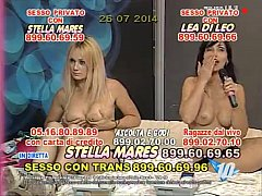 Lea di Leo in chat erotica su La9