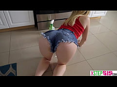 My teen stepsister Katie Kush has an amazing ass on her