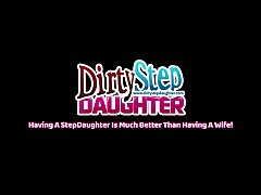 DirtyStepDaughter - Allie Haze Scolded Then Fuc...