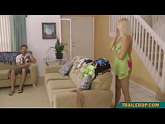son gets hard watching mom naked