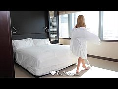 PureMature MILF Subil Arch fucked and creampie by hotel worker