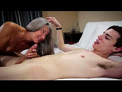 Taboo Grandmother Leilani Lei Fucks Grandson Fo...