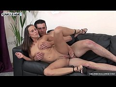 Tall young newcomer carefully fuck Mea Melone and creampie her