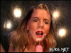Beauties love giving oral sex as they wish facial cumshots