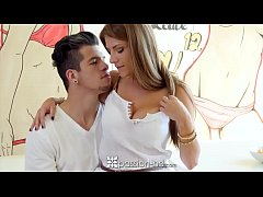 PASSION-HD Whip cream licking and fucking with Dillion Carter
