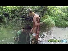 Camouflaged gay lovers go...