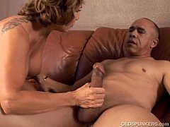 Hot and horny old spunker loves to suck, fuck a...