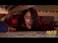 Fake Hostel They are Stuck Under A Bed again Halloween porn special video