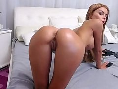 Hot Brunette showing delicious pussy  / Watch her live at www.Cams-69.com