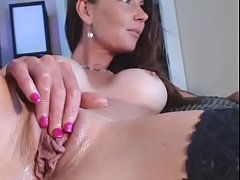 Wet pussy fingering closeup orgasm - watch live at AngelzLive.com