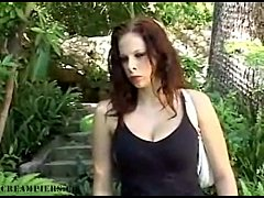 Creampie Surprise For Redhead With Melons