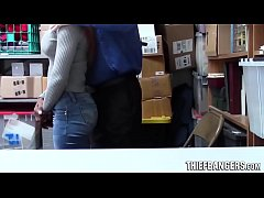 Ebony Teen Thief Sarah Banks Caught Stealing St...