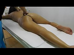 Her Brazilian Ass is so Tight for a Good Sensual Massage which the Full Version can Watch at XVideos.red