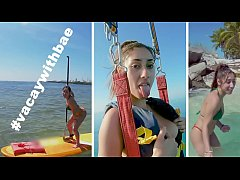 Kira Perez On Corona Vacay With Tony Rubino