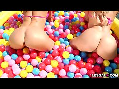 Get ready for these two horny cougars Alexis Fawx and Cherie DeVille enjoy in their 1st lesbian ANAL exploration.