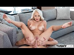 TUSHY Elsa enjoys anal with Kayden's boy-toy as...