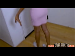 Cute Black Teen Big Natural Tits Fucked By Whit...