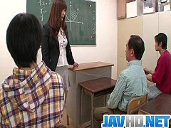 Clip sex Insolent teacher is in for a steamy fuck at school