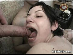 Unbelievable gang bang sex with big tits