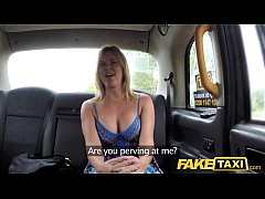 Clip sex Fake Taxi Mum with big natural tits gets big british cock