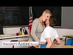 Naughty America - Prof. Conner pops a cherry