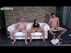 Melonechallenge Lets party begin threesome with Mea Melone & two horny dudes