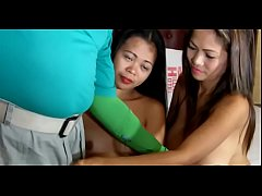 Voluptuous thai wife favors a relaxed fellow with a mouth job