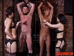 Pretty Asian Doms Tormenting Slaves, Free Porn:...