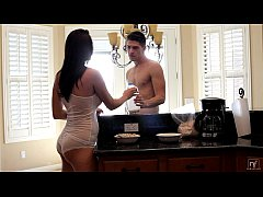 thumb nubile films   bigtit hottie holly michaels cums on her mans tongue