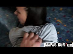 Publick Pickups - (Mea Melone) gets pounded on public transit - MOFOS