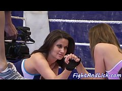 Wrestling euro cuties love pussy licking