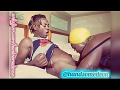 fat booty stripper sexual chocolate gets butt f...