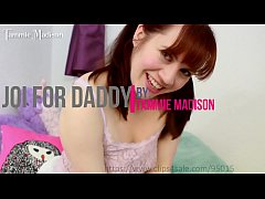 Jerk off instructions for Daddy from horny redhead