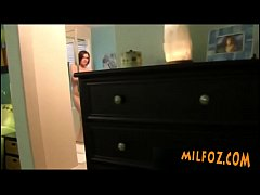 milfoz.com - Mother makes son cum